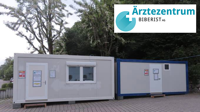 Biberist (SO): Corona-Container-Abklärungsstation hat bis anhin 70 Tests durchgeführt